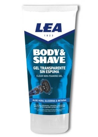 Body & Shave Transparent Gel