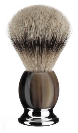 Rakborste Silvertip Badger Sophist Genuine Buffalo Horn - L