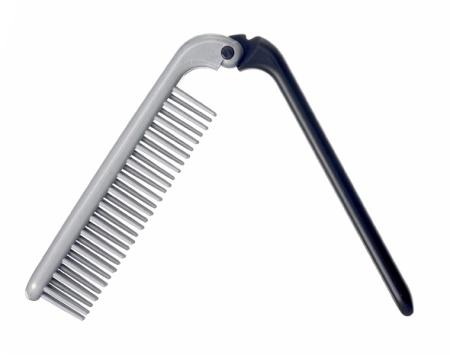 Hopfällbar hårborste