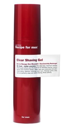 Clear Shaving Gel